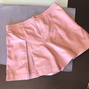 Rebecca Minkoff lambskin leather shorts